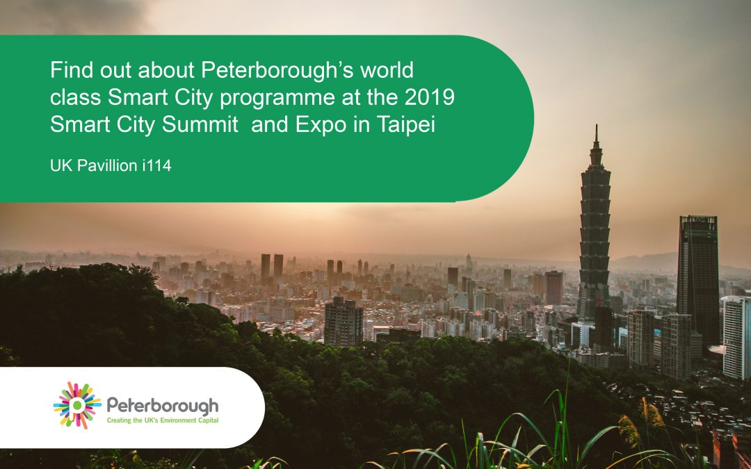 Discover Peterborough's Smart City credentials at the 2019 Smart City Summit & Expo in Taipei